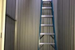 Sunset Self Storage (ladder inside space)